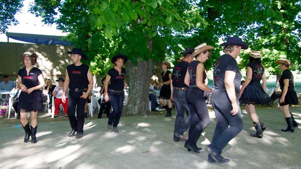 Les danseurs country du groupe American Dancers 04