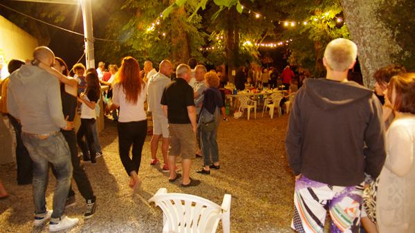 le public à la fête de la musique 2013 de Saint-Maime