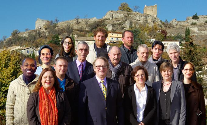 """Photo du groupe des membres de la liste de renouveau municipal """"Pour Saint-Maime"""""""
